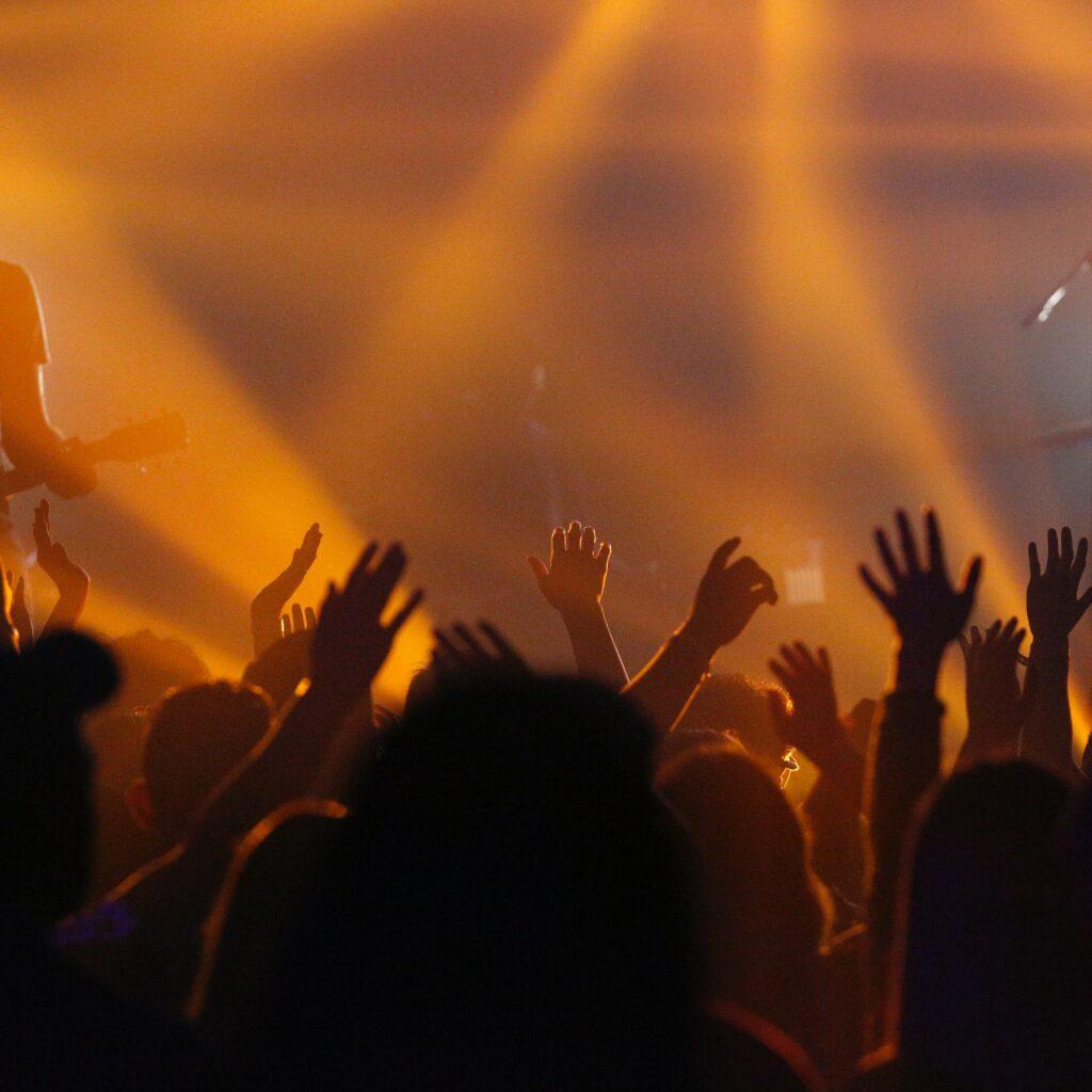 captation vidéo d'un concert live