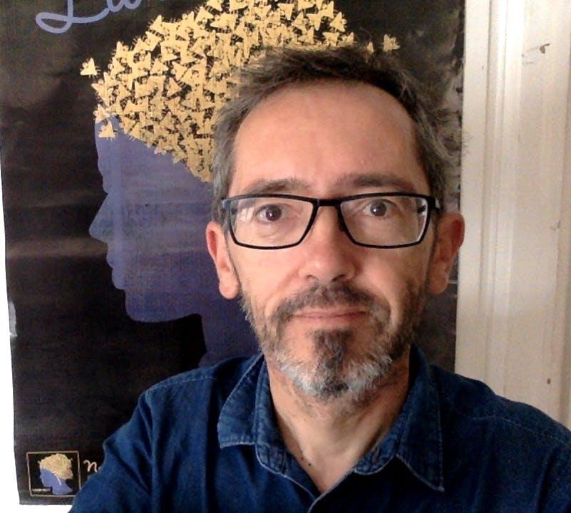 Philippe Couderc, fondateur de la maison de disques bordelaise Vicious Circle