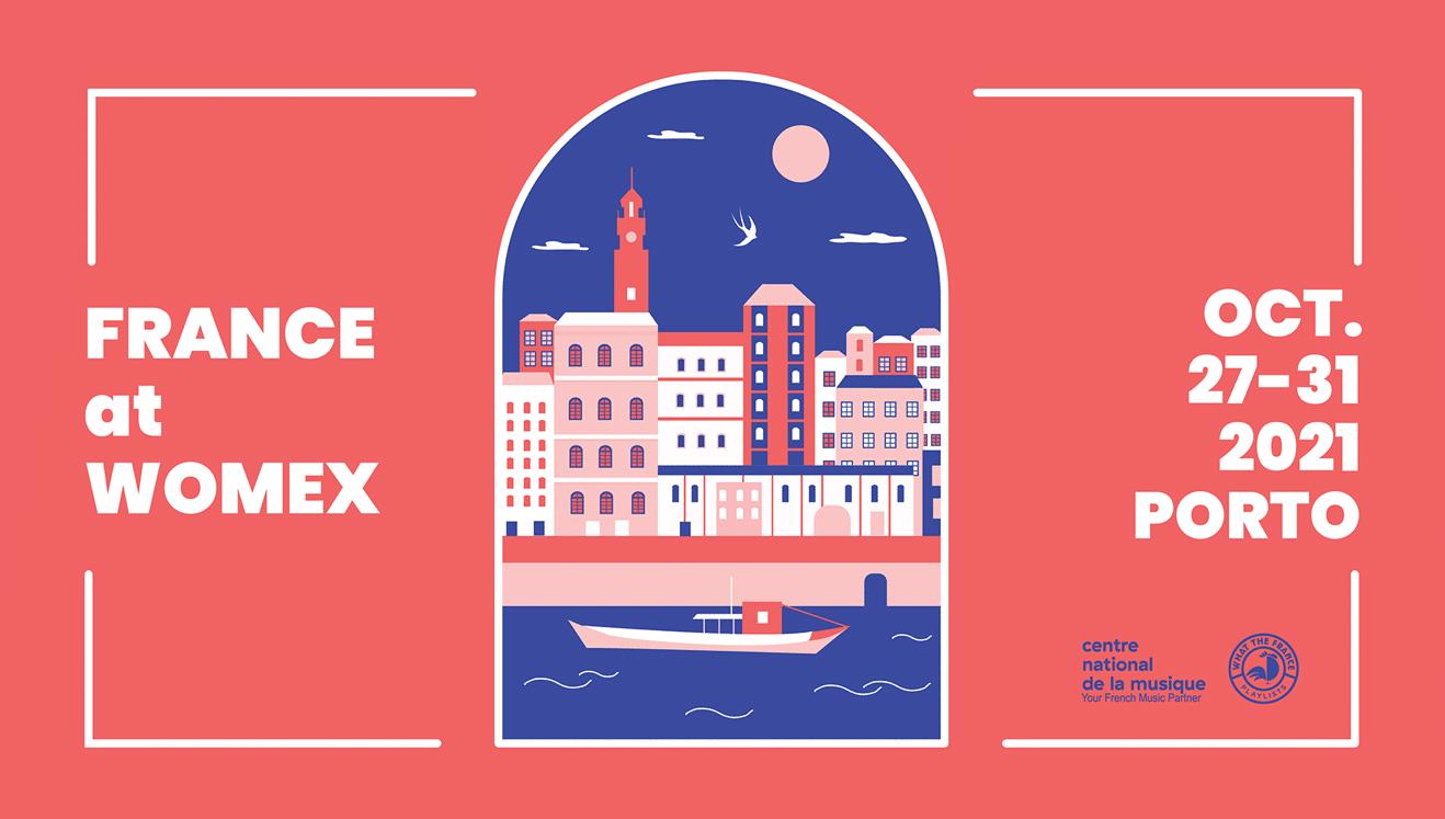 France at Womex 2021 : 12 artistes produits en France dans la sélection de showcase.