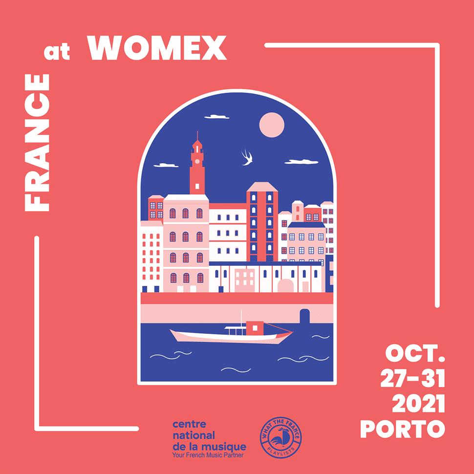 La France au Womex à partir du 27/10/2021